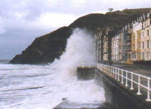 This is more or less what Aberystwyth looked like the last time I was there...